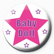 Button BABY DOLL