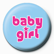 Button BABY GIRL