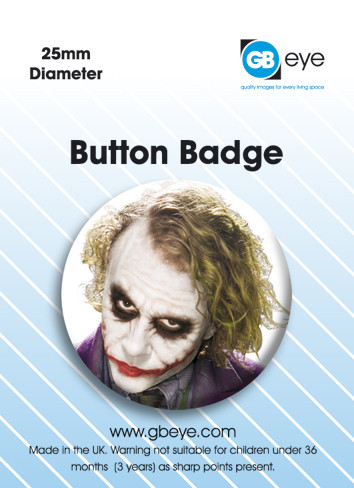 Button Batman - face