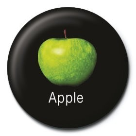 Button BEATLES - apple corps