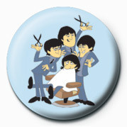 Button BEATLES (HAIR CUT)