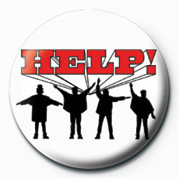 Button BEATLES (HELP)