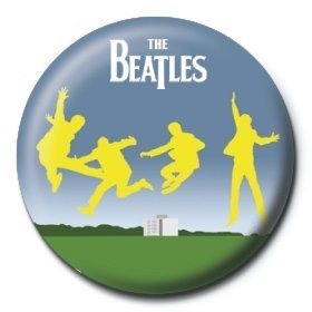 Button  BEATLES - jump