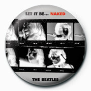 Button BEATLES (LET IT BE NAKED)