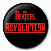 Button  BEATLES (REVOLUTION)