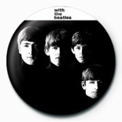 Button BEATLES (WITH THE BEATLES)
