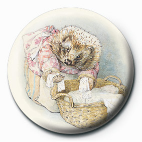 Button BEATRIX POTTER (MRS TIGGY)