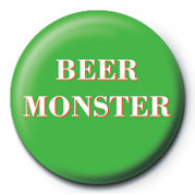Button BEER MONSTER