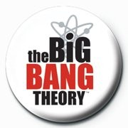 Button BIG BANG THEORY - logo
