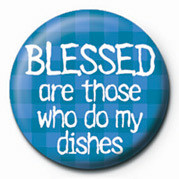 Button BLESSED ARE THOSE WHO DO M