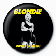 Button  BLONDIE (RIP HER)