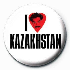 Button BORAT (I LOVE)
