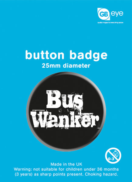 Button Bus Wanker