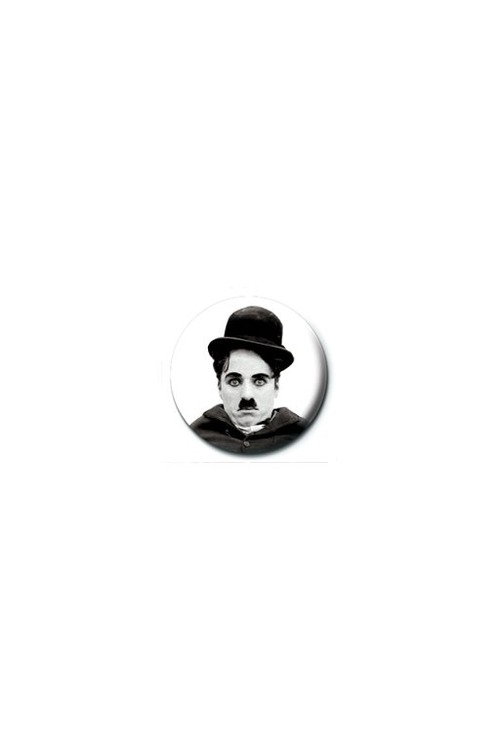 Button CHARLIE CHAPLIN