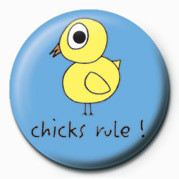 Button  D&G (CHICKS RULE)