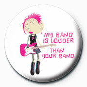 Button D&G (My Band Is Louder)