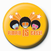 D&G (Pimpin' Is Easy) Button