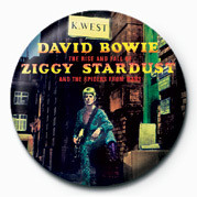 Button David Bowie (Stardust)