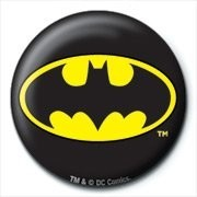 Button DC COMICS - batman logo