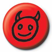 Button  DEVIL FACE