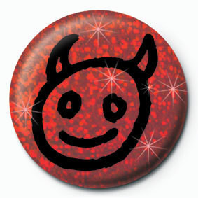 Button DEVIL FACE