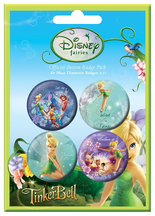 DISNEY FEEN Button
