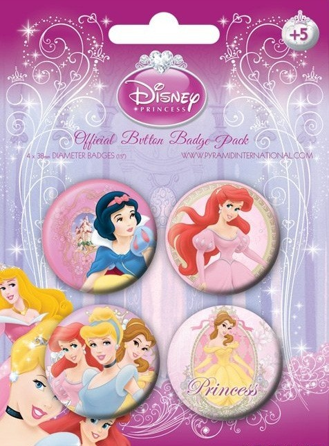 Button  DISNEY PRINZESSINNEN 1