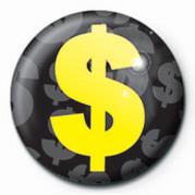 Button DOLLAR SIGN