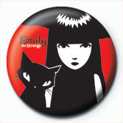 Button Emily The Strange - Emily and Sabbath