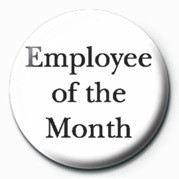 Button EMPLOYEE OF THE MONTH