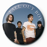 Button FALL OUT BOY - group