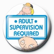 Family Guy (Adult Supervis Button