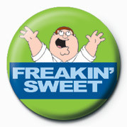 Button Family Guy (Freakin' Sweet
