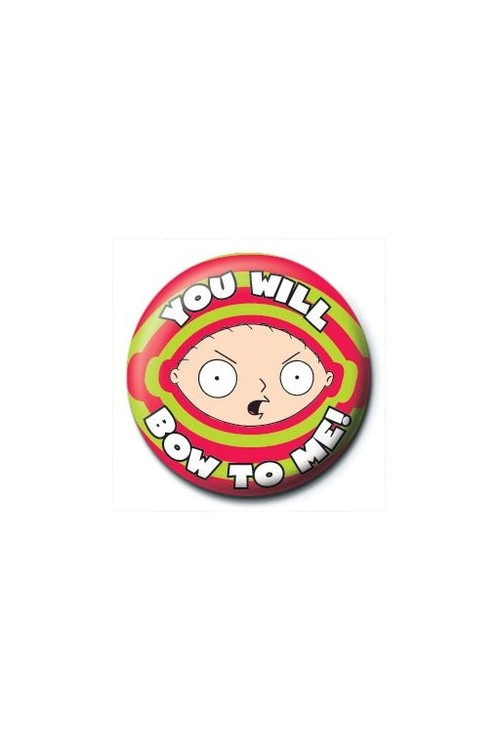 Button FAMILY GUY - stewie