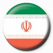 Button Flag - Iran