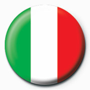 Button Flag - Italy
