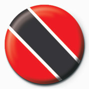 Button Flag - Trinidad & Tobago