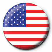 Button FLAG - USA
