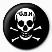 Button G.B.H (SKULL)