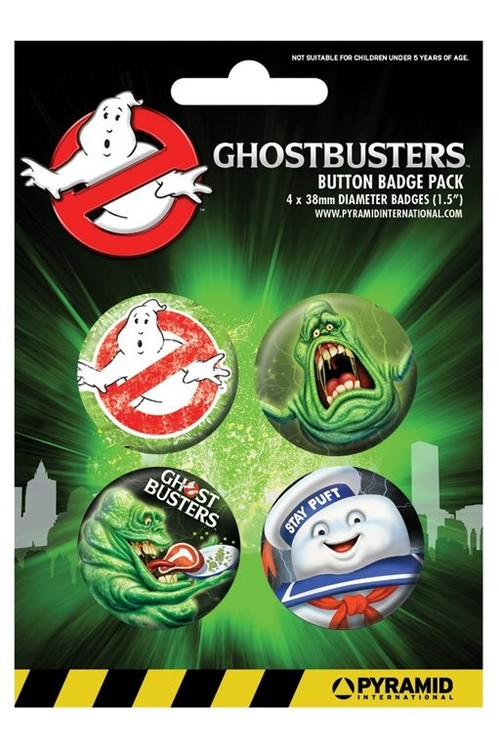 Button GHOSTBUSTER - slimer