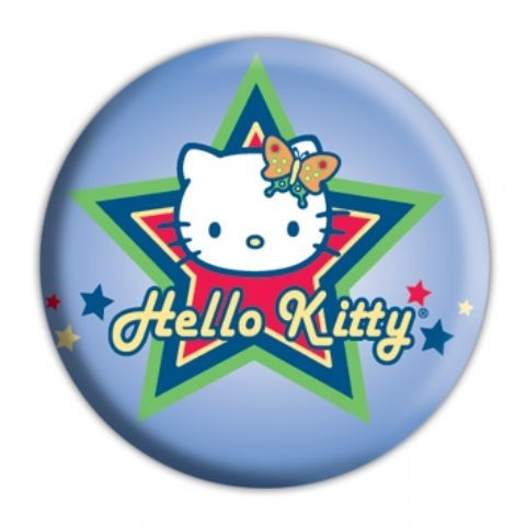 Button HELLO KITTY