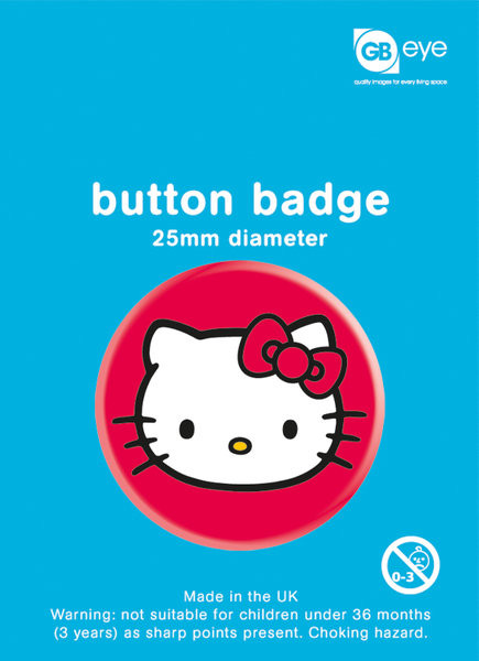 Button Hello Kitty - Sat