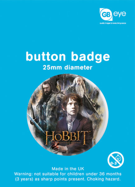 Button HOBBIT - group