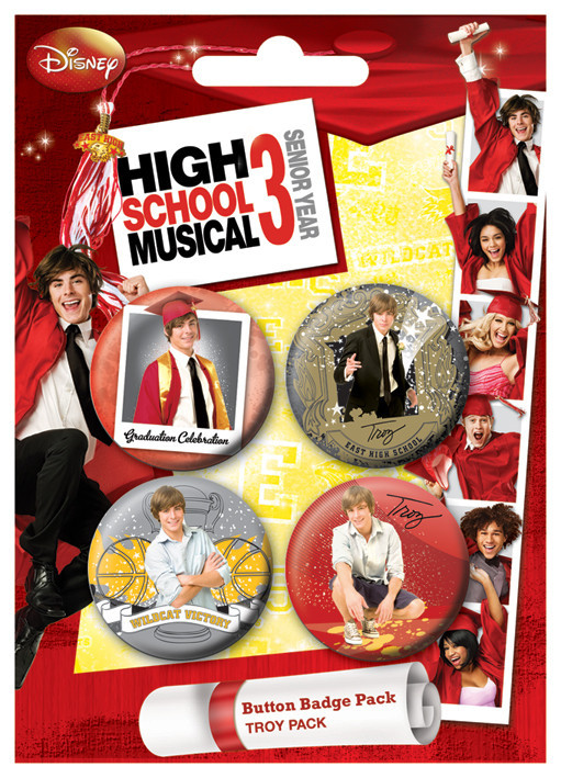 Button HSM3 - Troy