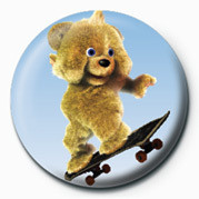 Button  JAMSTER - Brown Bear (Skat