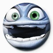 Button JAMSTER - Crazy Frog (Clos