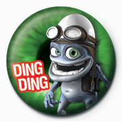 Button JAMSTER - Crazy Frog (Gree