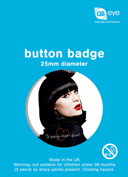 Button JESSIE J - face