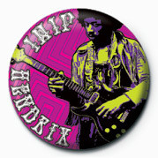 Button JIMI HENDRIX (GUITAR)