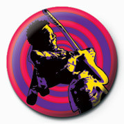 Button JIMI HENDRIX (PURPLE HAZE)